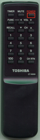 TOSHIBA 23120320 CT9690 Genuine  OEM original Remote