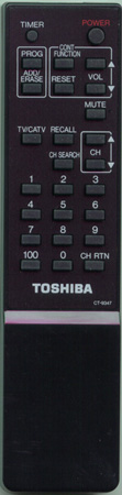 TOSHIBA 23120459 CT9347 Genuine  OEM original Remote
