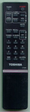 TOSHIBA 23120461 CT9349 Genuine  OEM original Remote