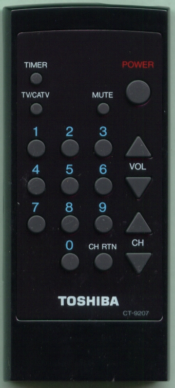 TOSHIBA 23120675 CT9207 Refurbished Genuine OEM Original Remote