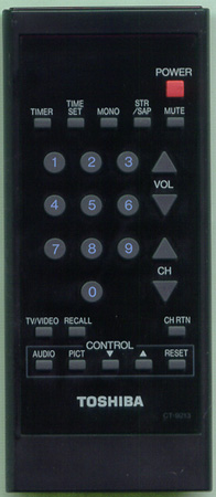 TOSHIBA 23120681 CT9213 Genuine  OEM original Remote
