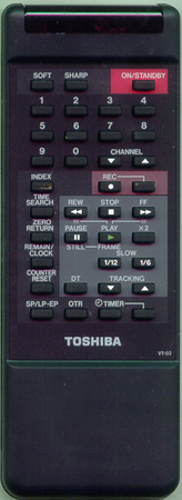 TOSHIBA 70148427 VT02 Genuine OEM original Remote