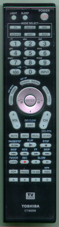 TOSHIBA 75004080 CT90258 Genuine  OEM original Remote