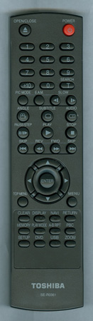 TOSHIBA AH700711 SER0361 Genuine  OEM original Remote