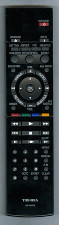 TOSHIBA AH700767 SER0378 Genuine  OEM original Remote