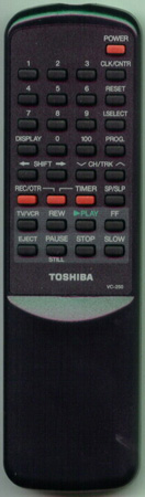 TOSHIBA BZ684225 VC250 Genuine  OEM original Remote
