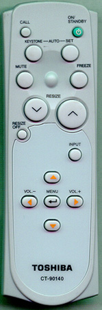 TOSHIBA CT-90140 CT90140 Genuine  OEM original Remote