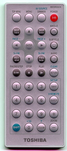 TOSHIBA P000347030 MEDR04UX Refurbished Genuine OEM Original Remote