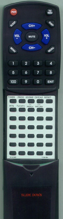 TOSHIBA 23120460 CT9348 Custom Built Redi Remote