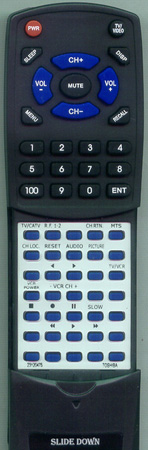 TOSHIBA 23120475 CT9371 Custom Built Redi Remote