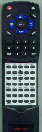 TOSHIBA 23306171 CT9854 Custom Built Redi Remote