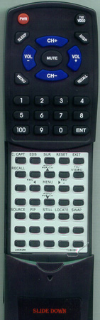 TOSHIBA 23306090 CT9792 Custom Built Redi Remote