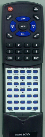 TOSHIBA 23306261 CT9945 Custom Built Redi Remote