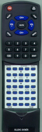 TOSHIBA 23587508 Custom Built Redi Remote