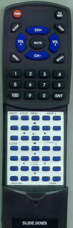 TOSHIBA 23587909 CT8004 Custom Built Redi Remote