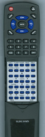TOSHIBA 72799180 VCSB1 Custom Built Redi Remote