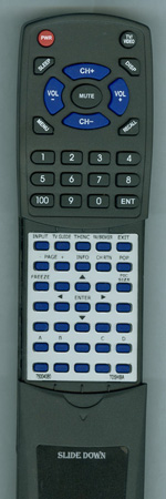 TOSHIBA 75004080 CT90258 Custom Built Redi Remote