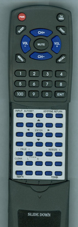 TOSHIBA 75004774 Custom Built Redi Remote