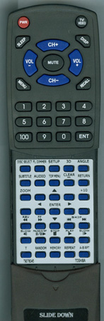 TOSHIBA 79078045 SER0031 Custom Built Redi Remote