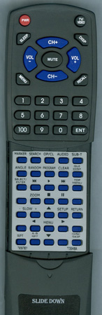 TOSHIBA 79097801 SER0055 Custom Built Redi Remote