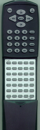 TOSHIBA CT989 CT989 Custom Built Redi Remote