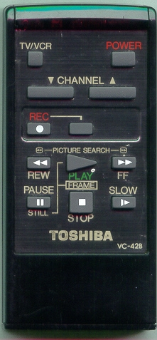 TOSHIBA VC42B VC42B Refurbished Genuine OEM Original Remote