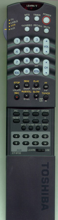 TOSHIBA 23120416 CT9722 Genuine  OEM original Remote