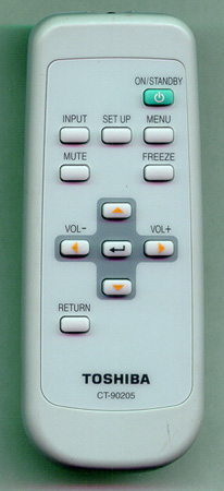 TOSHIBA 23306561 CT90205 Genuine  OEM original Remote