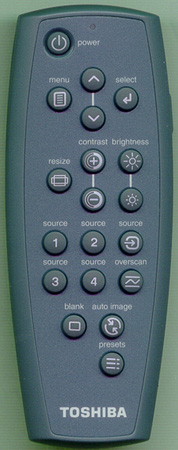 TOSHIBA 555030300 Genuine  OEM original Remote