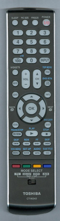 TOSHIBA 75017769 CT-90343 Genuine  OEM original Remote