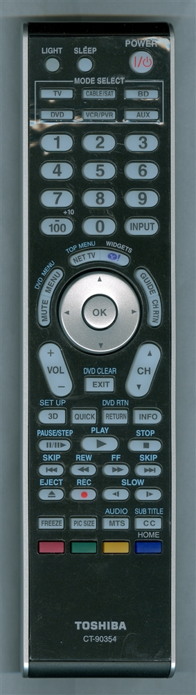 TOSHIBA 75020381 CT-90354 Refurbished Genuine OEM Original Remote