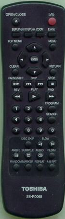 TOSHIBA 79098807 SE-R0068 Genuine OEM original Remote
