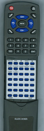 TOSHIBA 23120346 CT-9482 Custom Built Redi Remote