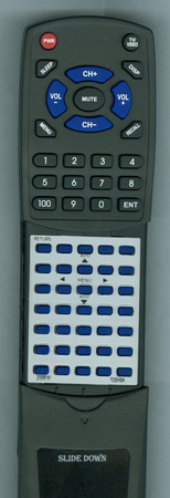 TOSHIBA 23306161 CT9852 Custom Built Redi Remote