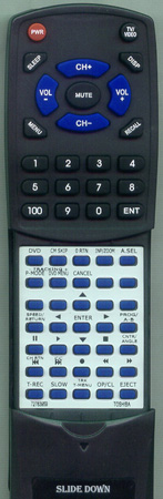 TOSHIBA 72783959 WCSBU2 Custom Built Redi Remote