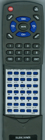 TOSHIBA 75018762 CT-90343 A Custom Built Redi Remote