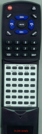 TOSHIBA AE000622 CT-852 Custom Built Redi Remote