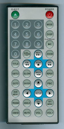 TVIEW T127DVFD Genuine OEM original Remote