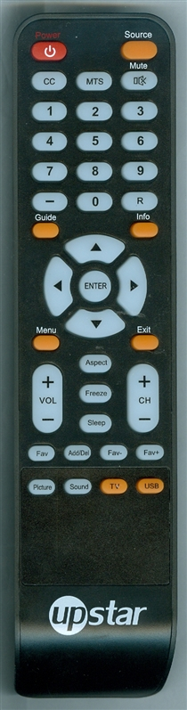UPSTAR P250ET Genuine OEM original Remote
