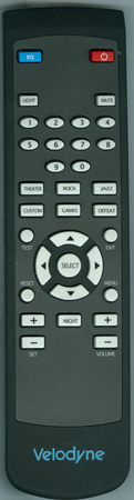VELODYNE 79-021 Genuine OEM original Remote