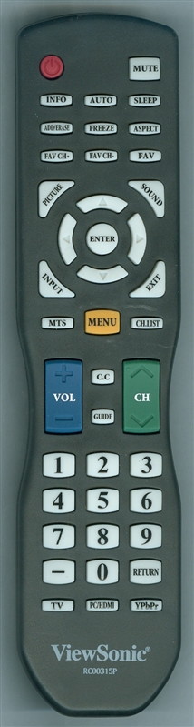 VIEWSONIC A-00009265 RC00315P Genuine OEM original Remote