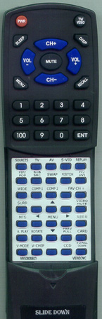 VIEWSONIC M-MS-0808-9923 Custom Built Redi Remote