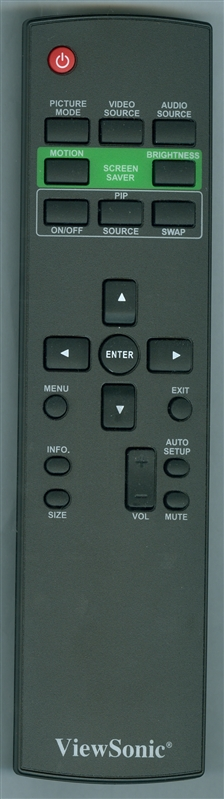 VIEWSONIC A-00008828 Genuine OEM original Remote