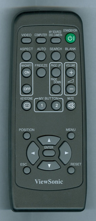 VIEWSONIC A-00008320 Genuine OEM original Remote