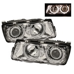 BMW 7 Series E38 99-01 Projector Headlights - Chrome