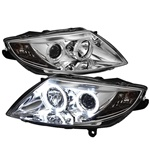 BMW Z4 03-08 ( HID Type ) Halo Projector Headlights - Chrome