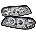 Chevy Impala 00-05 CCFL LED Projector Headlights - Chrome
