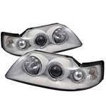 Ford Mustang 99-04 Halo Projector Headlights - White