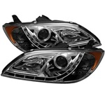 Mazda 3 04-08 4DR Sedan ( Non Hatchback ) DRL LED Projector Headlights - Chrome