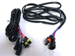 HID motorcycle extension harness